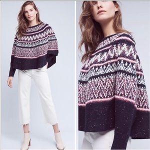 Anthropologie Sleeping on Snow Midland sweater